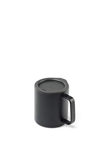 GSI Outdoors Glacier Stainless 10 fl. OZ. Camp Cup- Black