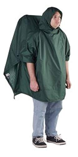 Outdoor Products Poncho Backpacker (Forest Green)