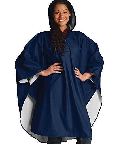 The 'Summit Collection' Pacific Poncho - Navy - One Size Fits All
