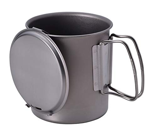 Snow Peak's Trek 700, SCS-005T, .7L Japanese Titanium Pot, Ultralight and Compact for Backpacking and Camping, Made in Japan, Lifetime Product Guarantee