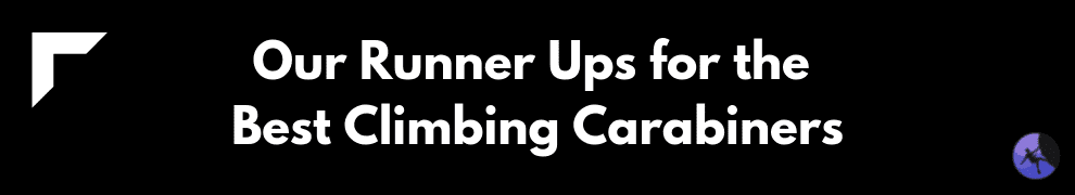 Our Runner Ups for the Best Climbing Carabiners