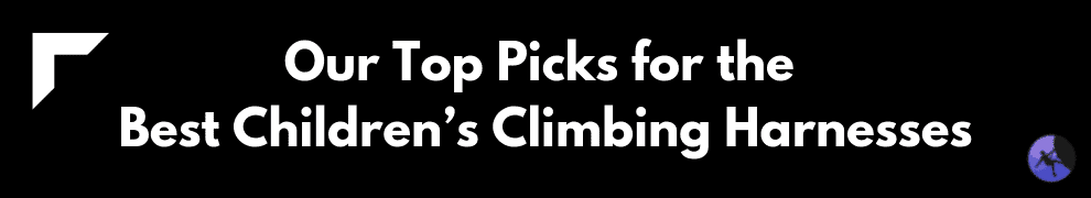Our Top Picks for the Best Children's Climbing Harnesses