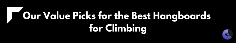 Our Value Picks for the Best Hangboards for Climbing