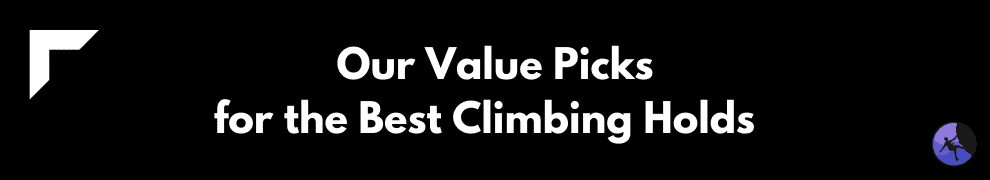 Our Value Picks for the Best Climbing Holds