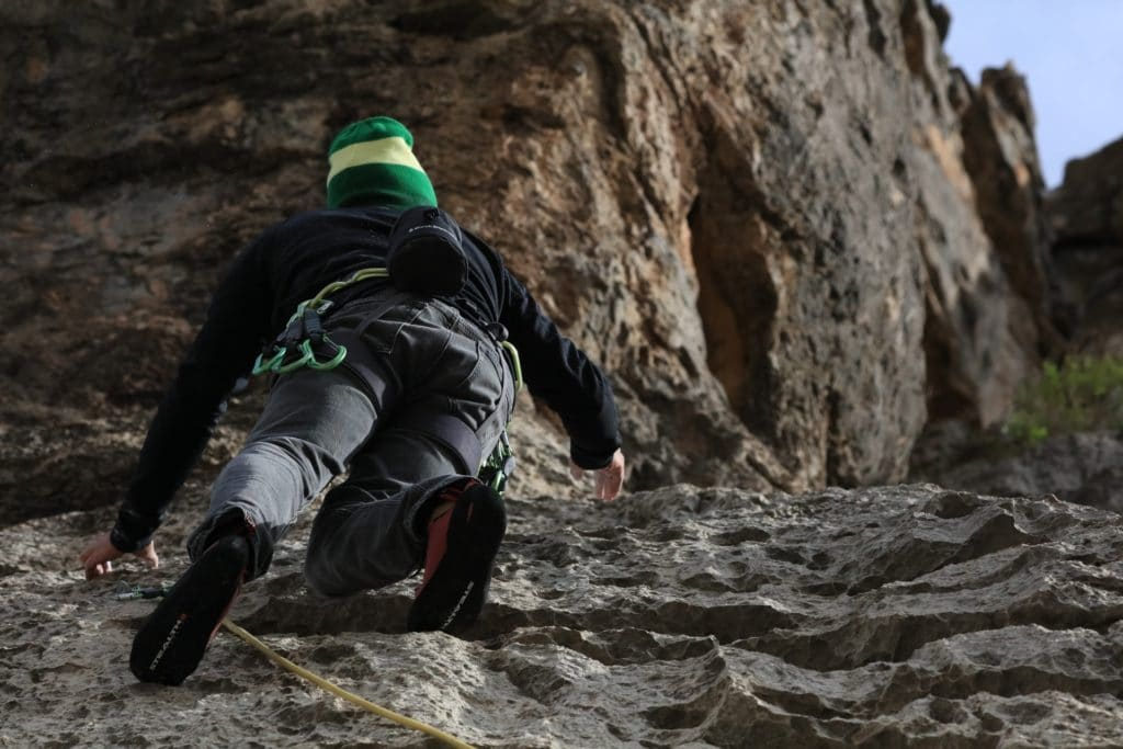 How Many Calories Can You Burn Top Roping or Sport Climbing