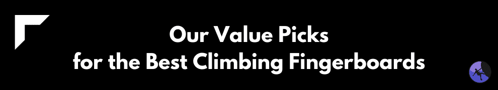 Our Value Picks for the Best Climbing Fingerboards